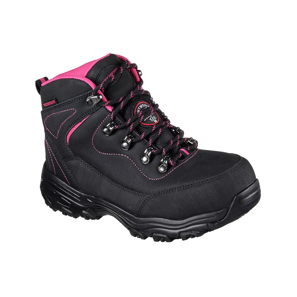 Black De Sr Seguridad Skechers Workshoes Calzado D´lite Amasa 1JcFKl
